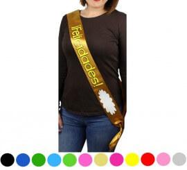 Banda Felicidades para personalizar colores surtidos