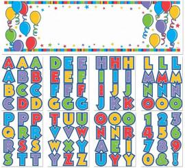 Banderín de Cumpleaños Gigante con 90 letras y números