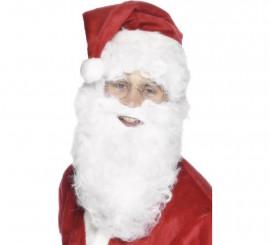 Barba de Papá Noel Blanca 28 cm