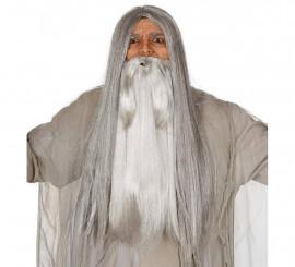 Barba gris extra de Mago
