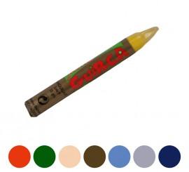 Barra maquillaje 14X110 mm. en varios colores