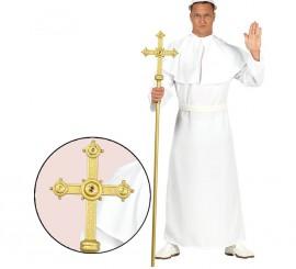 Bastón Arzobispo con Cruz 150 cm