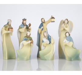 Belén Luz de Esperanza de 7 figuras con luz
