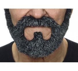 Barba negra canosa