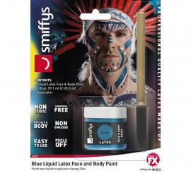 Blister de Látex líquido azul con aplicador para Indio