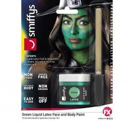 Blister de Látex líquido verde con aplicador para Bruja