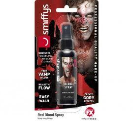 Blister de Sangre en spray roja para Vampiro de 59,1 ml.