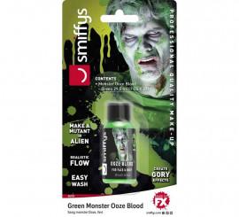 Blister de Sangre supurada verde para Alien de 29,5 ml.