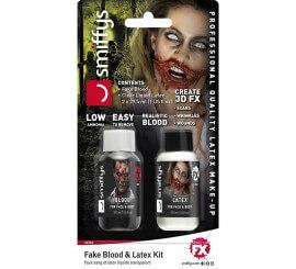 Blister de Sangre y Látex para Zombie de 29,5 ml.