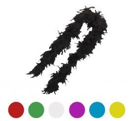 Boa de pluma 35 gramos de 150 cm en varios colores