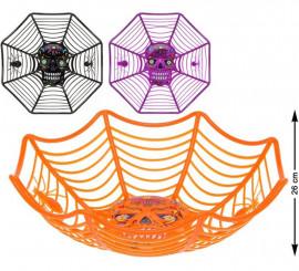 Bol de Toile d'Araignée Halloween disponible en 3 modèles 26 cm