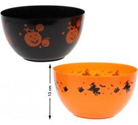 Bol Halloween disponible en 2 modèles 13x22 cm