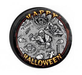 Bolsa 8 Platos 23 cm Haloween Zombie