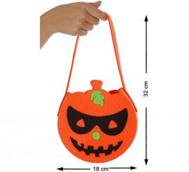 Bolsa para Caramelos de Calabaza 32 cm