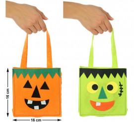 Bolsa para caramelos en 2 modelos surtidos 16 cm
