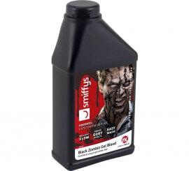 Botella de Sangre en gel negra para Zombie de 473,1 ml.