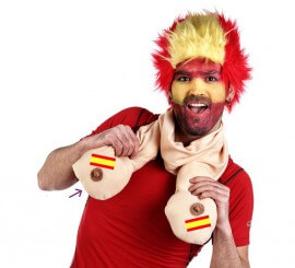 Bufanda de España con Pechos para hombre