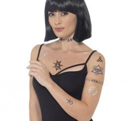 Calcomanías de Tatuajes ocultistas