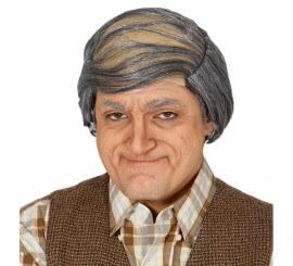 Calva con pelo de abuelo o viejo