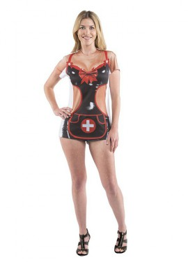 Camisa Enfermera Sexy para mujer