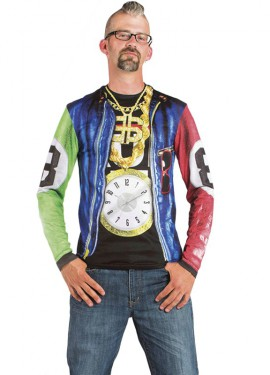Camisa Hip Hop para Hombre