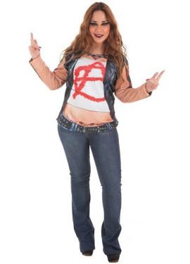 Camisa Rockera para mujer