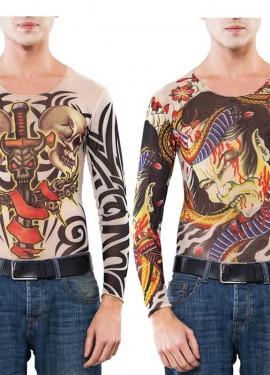 Camiseta con Tatuajes 2 modelos surtidos