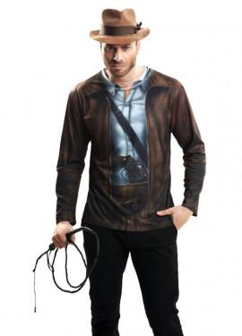 Camiseta disfraz buscador de tesoros para Hombre