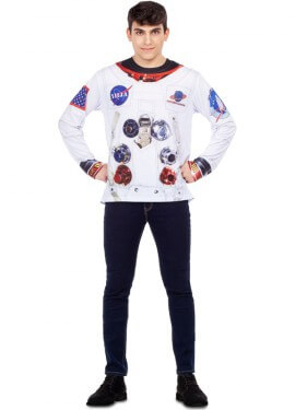 Camiseta Disfraz de Astronauta para hombre