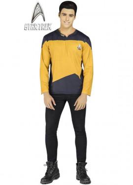 Camiseta Disfraz de Data de Star Trek para hombre