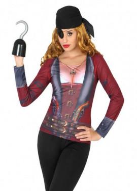 T-shirt Rigolo de Pirate pour femmes