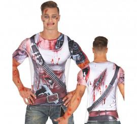 Camiseta Disfraz de Robot