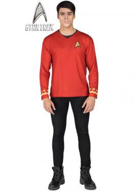 Camiseta Disfraz de Scotty de Star Trek para hombre