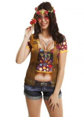 T-shirt Hippie pour femme plusieurs tailles