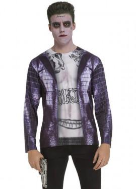 Déguisement T-Shirt Joker Suicide Squad pour homme