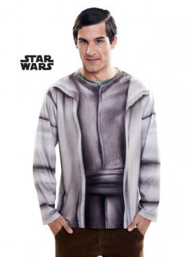 T-shirt déguisement de Yoda pour adultes Star Wars Épisode VII