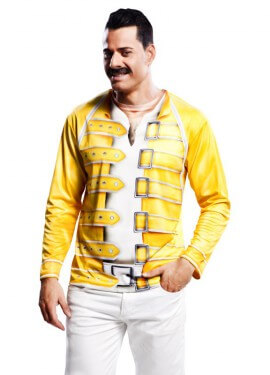 Camiseta disfraz Mercury para hombre