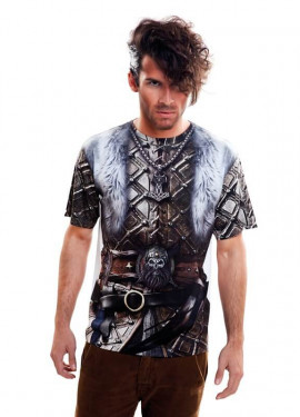 Camiseta disfraz Viking Boy para hombre