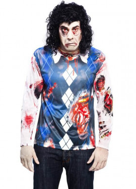 T-shirt Zombie pour homme taille M