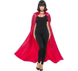 Capa de Diablo Rojo para adultos 144 cm
