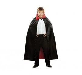 Capa de Vampiro infantil de 90 cm para Halloween