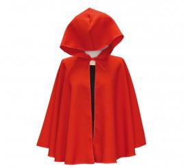 Capa Medieval corta Roja para adultos