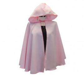 Capa Medieval corta Rosa para adultos