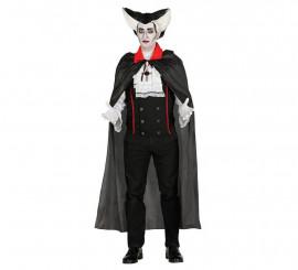 Capa Negra de Vampiro de 140 cm