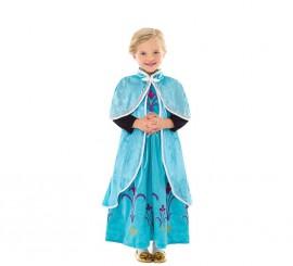 Capa o Abrigo de Princesa del Hielo para niña