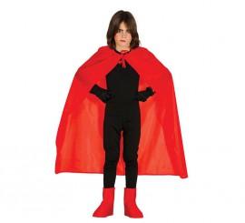 Capa roja de 100 cm para niños