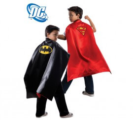Capa Reversible de Batman v Superman infantil