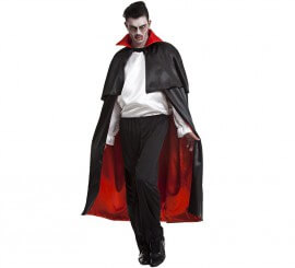 Capa Vampiro Negra-Roja para hombre