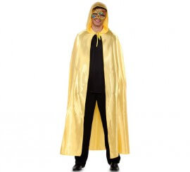 Capa Veneciana oro para adultos