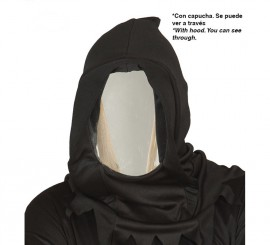 Capucha negra con Espejo